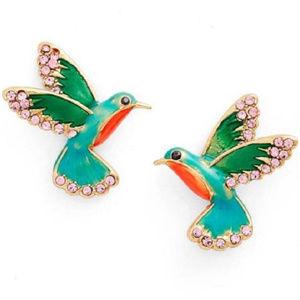 Kate Spade Scenic Route Hummingbird Stud Earrings